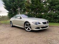 2008 BMW 6 SERIES 3.0 630I SPORT 2d 269 BHP £5995.00