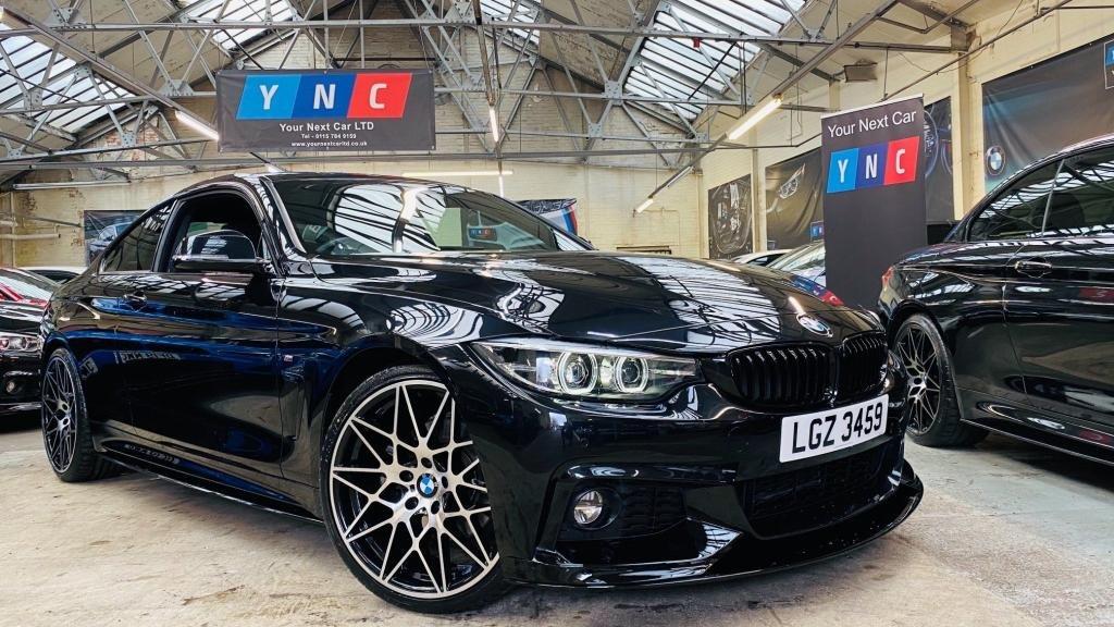 USED 2018 BMW 4 SERIES 3.0 430d M Sport Auto (s/s) 2dr PERFORMANCEKIT+20S+LOWMILES!