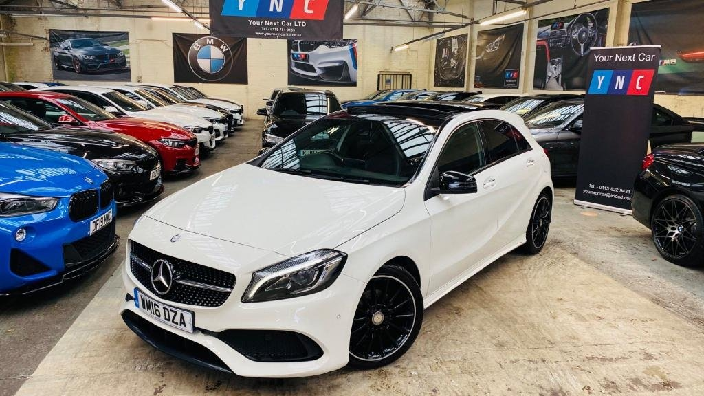 USED 2016 16 MERCEDES-BENZ A-CLASS 1.5 A180d AMG Line (Premium Plus) (s/s) 5dr KEYLESS+PANROOF+PREMIUMPLUS!
