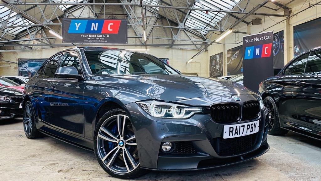 USED 2017 17 BMW 3 SERIES 3.0 335d M Sport Auto xDrive (s/s) 4dr PERFORMANCEKIT+SROOF+MPLUSPACK