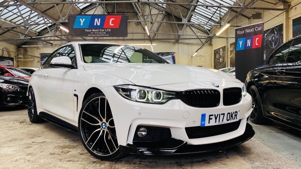 USED 2017 17 BMW 4 SERIES 2.0 420d M Sport (s/s) 2dr PERFORMANCEKIT+20S+FULLHISTORY