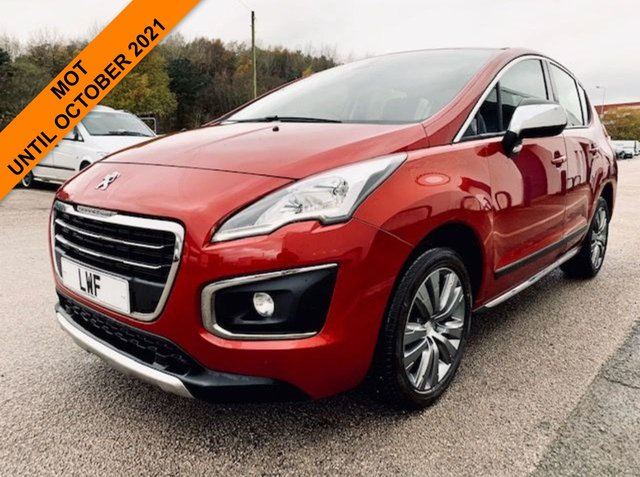 USED 2014 14 PEUGEOT 3008 1.6 E-HDI ACTIVE 5d 115 BHP