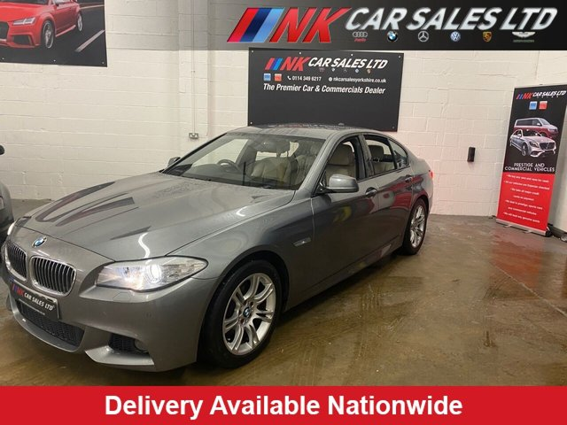 2012 12 BMW 5 SERIES 2.0 520D M SPORT 4d 181 BHP BIG SCREEN NAV HEADUP DISPLAY  SOLD TO  FREDIS FROM DERBY