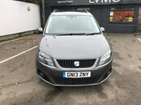 USED 2013 13 SEAT ALHAMBRA 2.0 CR TDI SE LUX DSG 5d 140 BHP LEATHER, SAT NAV, PAN ROOF
