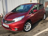 USED 2014 14 NISSAN NOTE 1.2 TEKNA DIG-S 5d 98 BHP ** OPEN FOR CLICK & COLLECT **