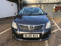 USED 2010 60 TOYOTA AVENSIS 1.8 VALVEMATIC T4 4d 145 BHP ** OPEN FOR CLICK & COLLECT **