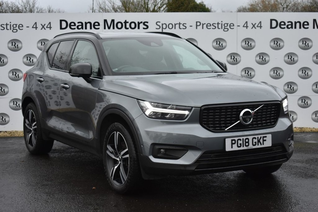 USED 2018 18 VOLVO XC40 2.0 D4 FIRST EDITION AWD 5d 188 BHP LOW MILES