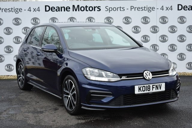 2018 18 VOLKSWAGEN GOLF 1.5 R LINE TSI EVO 5d 148 BHP GREAT SPEC