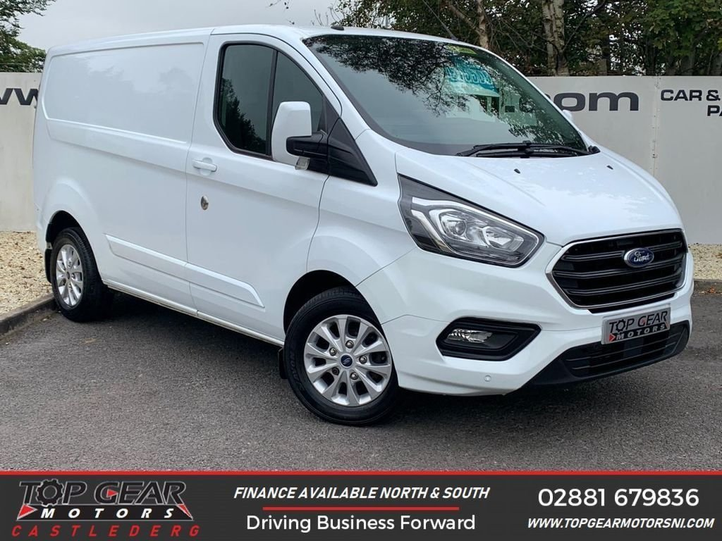 USED 2018 68 FORD TRANSIT CUSTOM 280 2.0 130BHP LIMITED L1 H1  ** A/C, CRUISE CONTROL, PARKING SENSORS ** OVER 90 VANS IN STOCK