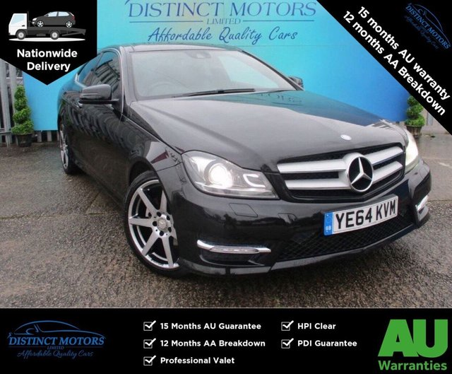 USED 2014 64 MERCEDES-BENZ C-CLASS 2.1 C250 CDI AMG SPORT EDITION PREMIUM PLUS 2d 202 BHP