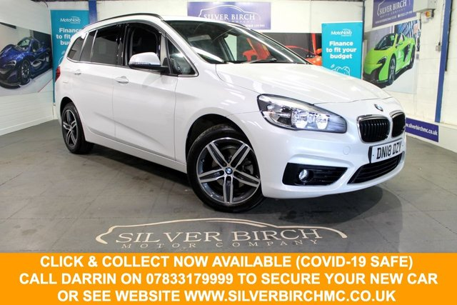USED 2018 18 BMW 2 SERIES 1.5 216D SPORT GRAN TOURER 5d 114 BHP Great Spec, 7 Seats