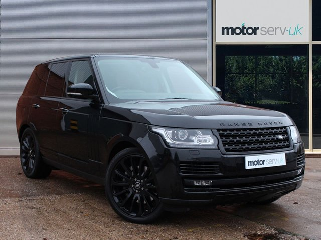 USED 2016 66 LAND ROVER RANGE ROVER 4.4 SDV8 AUTOBIOGRAPHY 5d 339 BHP