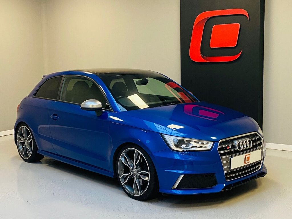 USED 2015 15 AUDI S1 2.0 QUATTRO 3d 228 BHP PAN ROOF + LOW MILES + 2 KEYS + VERY FAST
