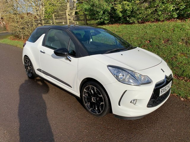 USED 2013 63 CITROEN DS3 1.6 DSTYLE PLUS 3d 120 BHP **MOT**FULL SERVICE HISTORY**LOVELY LOOKING CAR** LOVELY DRIVE**