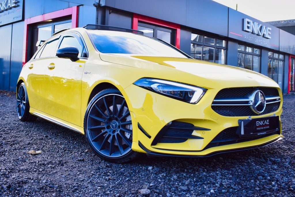 USED 2019 69 MERCEDES-BENZ A-CLASS 2.0 AMG A 35 4MATIC PREMIUM PLUS 5d 302 BHP