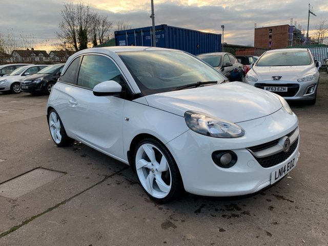 USED 2014 14 VAUXHALL ADAM 1.4 WHITE EDITION 3d 85 BHP SERVICE HISTORY