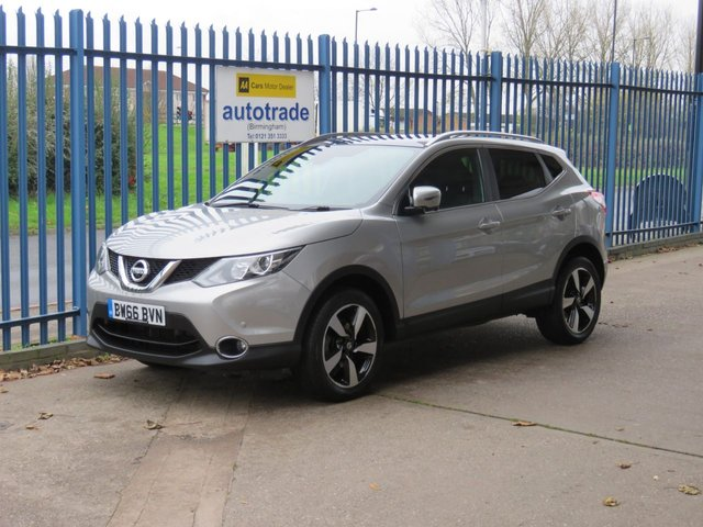 USED 2016 66 NISSAN QASHQAI 1.2 N-VISION DIG-T 5d 113 BHP Panoramic Roof Sat Nav Panoramic Roof & Half Hewated Leather Seats
