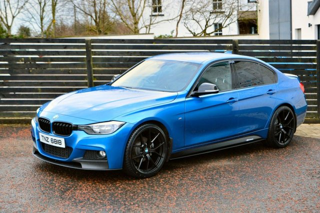 2014 BMW 3 SERIES 2.0 320D M SPORT 4d 181 BHP