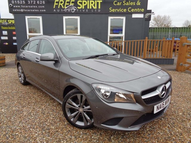 USED 2015 15 MERCEDES-BENZ CLA 2.1 CLA200 CDI Sport Shooting Brake 7G-DCT (s/s) 5dr Nav, Rear Cam, Memory Seats