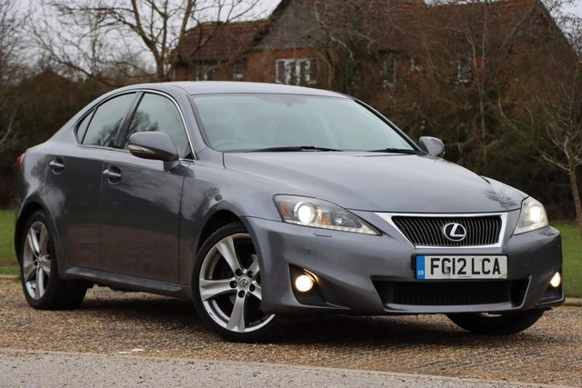 USED 2012 12 LEXUS IS 2.5 Advance 4dr LUXURY SPEC  Japanese reliable