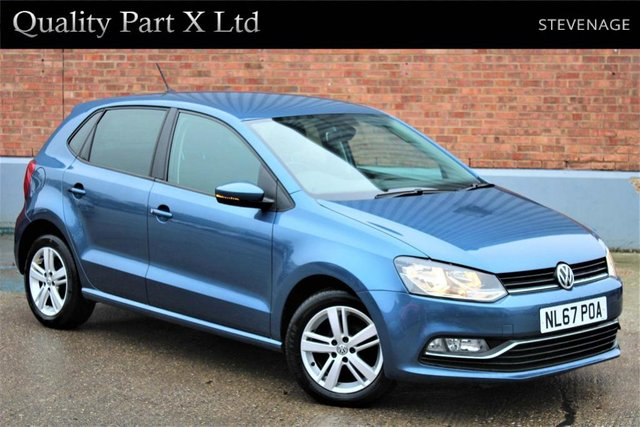 USED 2017 67 VOLKSWAGEN POLO 1.2 TSI Match Edition DSG (s/s) 5dr