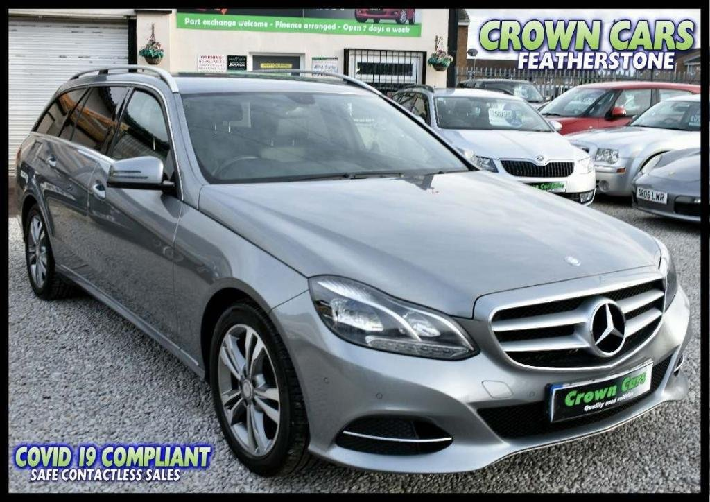 USED 2013 13 MERCEDES-BENZ E-CLASS 2.1 E220 CDI SE 7G-Tronic Plus 5dr FREE FINANCE ELIGIBILITY CHECK