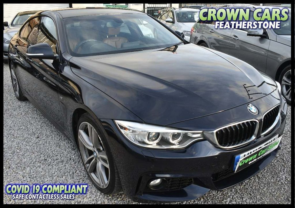 USED 2016 16 BMW 4 SERIES 2.0 420d M Sport Gran Coupe (s/s) 5dr ONE OWNER WITH FULL HISTORY