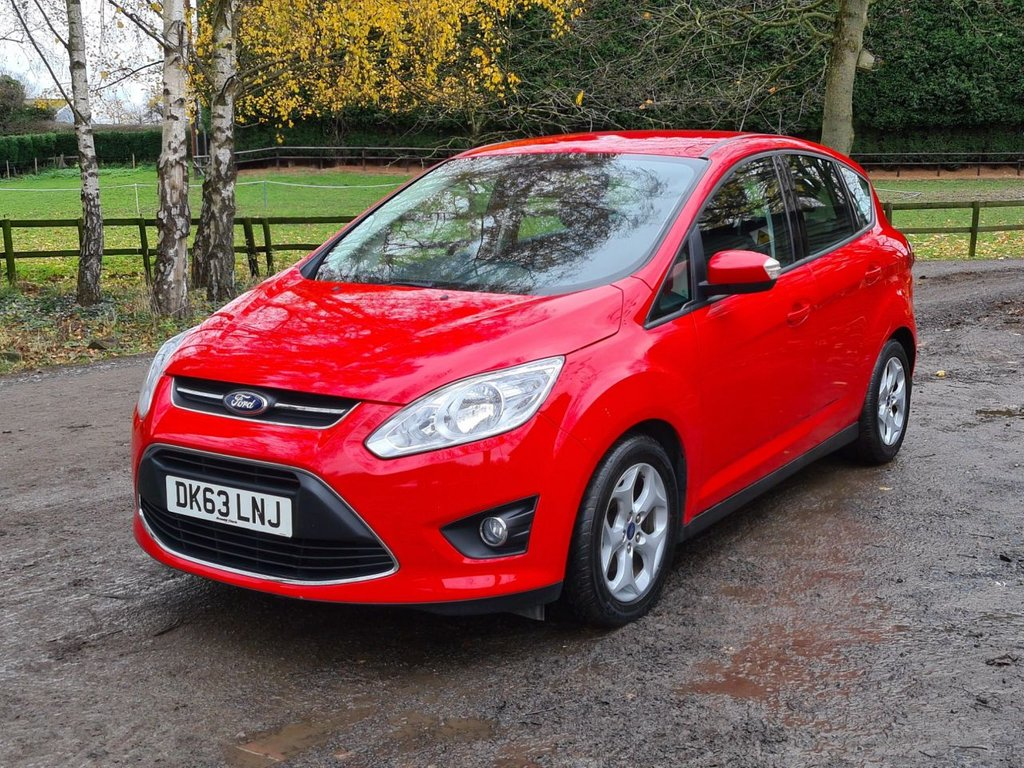 USED 2013 63 FORD C-MAX 1.6 ZETEC 5d 104 BHP +++DELIVERY AVAILABLE+++