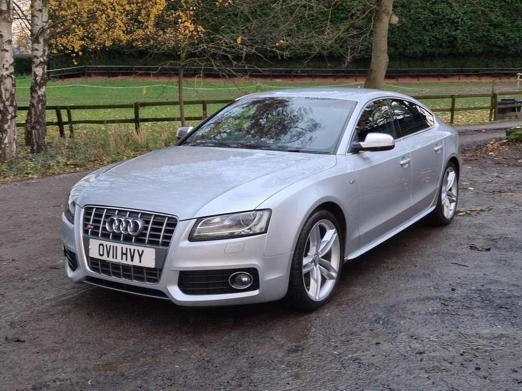 USED 2011 11 AUDI S5 3.0 S5 SPORTBACK TFSI QUATTRO 5d 329 BHP +++DELIVERY AVAILABLE+++