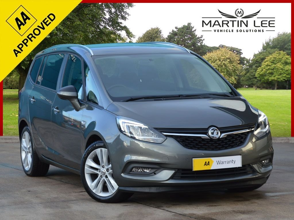 USED 2017 17 VAUXHALL ZAFIRA TOURER 1.4 SRI NAV 5d 138 BHP SAVE £1000 FINANCE SPECIAL OFFER