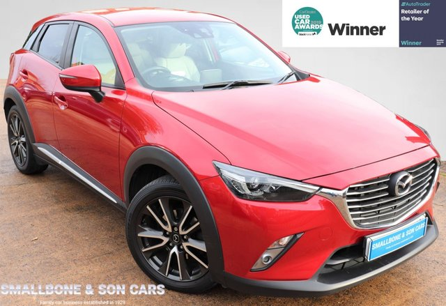 USED 2015 15 MAZDA CX-3 2.0 SPORT NAV 5d 118 BHP * BUY ONLINE * FREE NATIONWIDE DELIVERY *