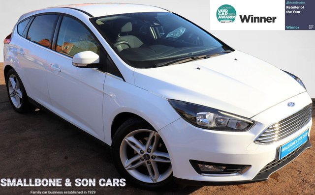 USED 2016 16 FORD FOCUS 1.5 TITANIUM TDCI 5d 118 BHP * BUY ONLINE * FREE NATIONWIDE DELIVERY *