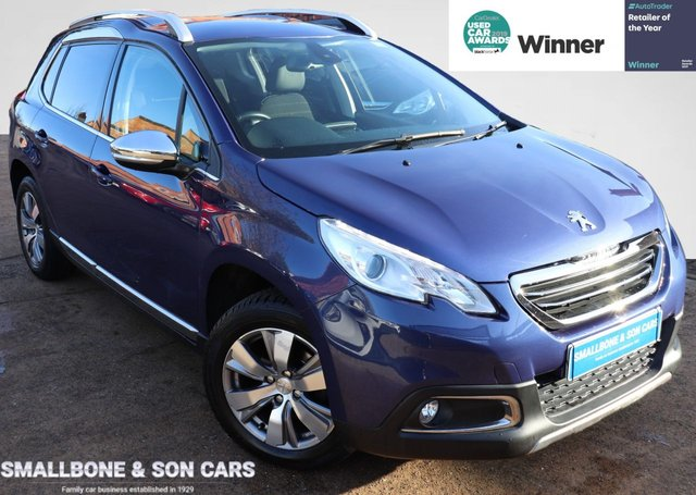 USED 2015 15 PEUGEOT 2008 1.2 ALLURE 5d 82 BHP * BUY ONLINE * FREE NATIONWIDE DELIVERY *