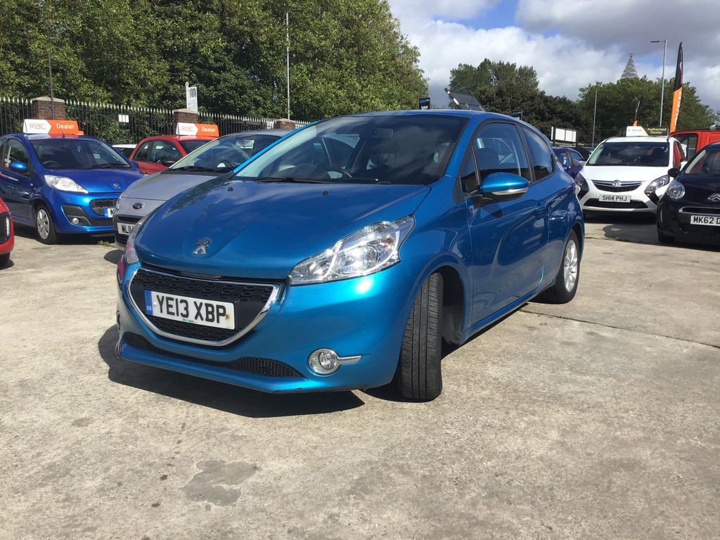 USED 2013 13 PEUGEOT 208 1.0 ACTIVE 3d 68 BHP STUNNING CAR FULL HISTORY