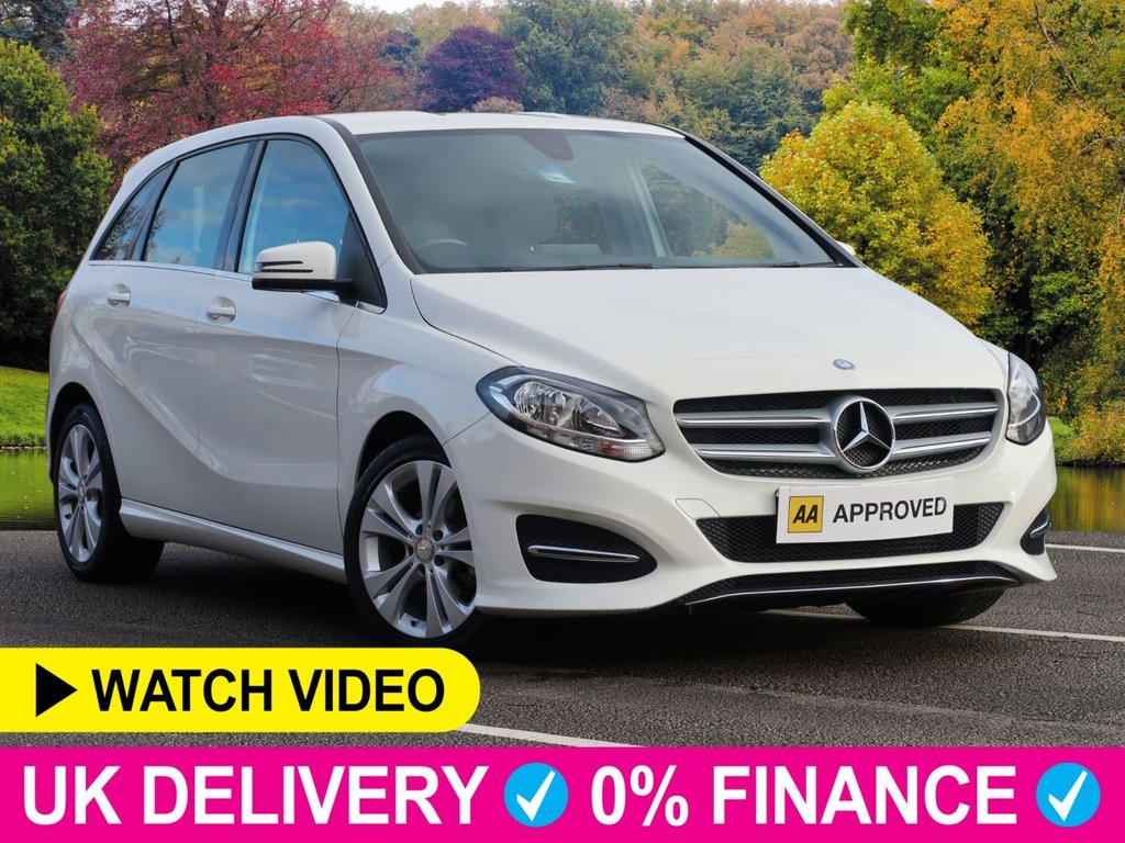 USED 2016 65 MERCEDES-BENZ B-CLASS B180 CDI Sport 1.5d 5dr Leather Seats Leather Seats Bluetooth PDC