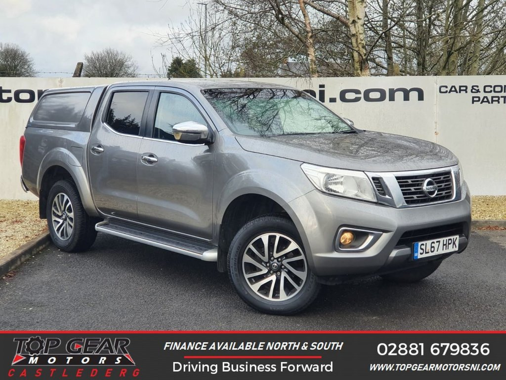 USED 2017 67 NISSAN NAVARA 2.3DCI 190BHP N-CONNECTA 4X4 DCB CANOPY  **  HEATED SEATS, A/C, TOW BAR  ** OVER 90 VEHICLES IN STOCK