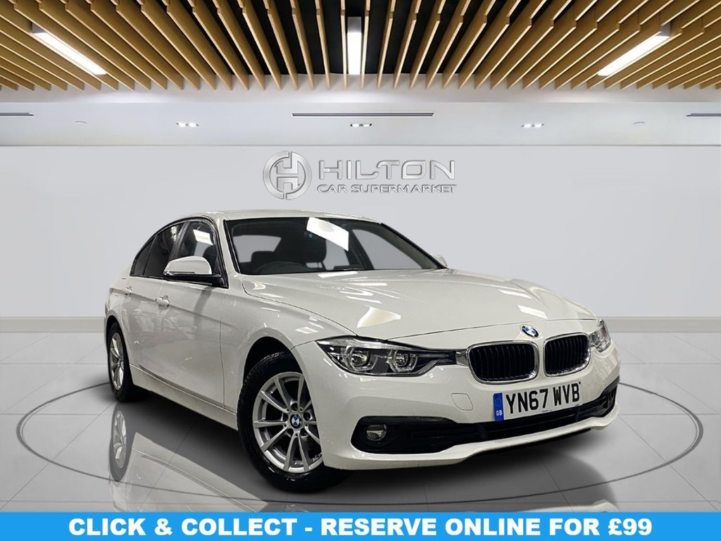 USED 2017 67 BMW 3 SERIES 2.0 320D ED PLUS 4d 161 BHP Alloys, Navigation System, Parking Sensors, Leather Upholstery, Climate Control