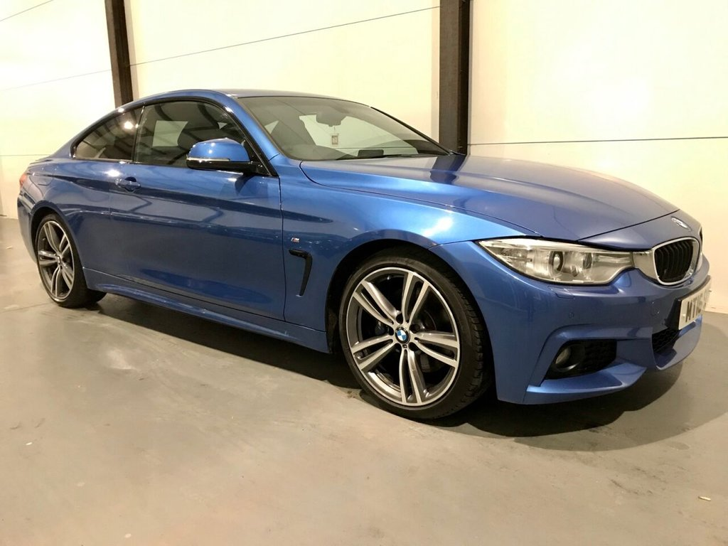 USED 2016 16 BMW 4 SERIES 2.0 420I M SPORT 2d 181 BHP OVER 6K FITTED EXTRAS|STUNNING