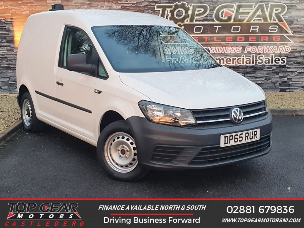 USED 2016 65 VOLKSWAGEN CADDY C20 2.0TDI 102BHP BMT STARTLINE **NEW MODEL** ** BLUE MOTION TECH, PLY LINED, FINANCE AVAILABLE ** OVER 90 VANS IN STOCK
