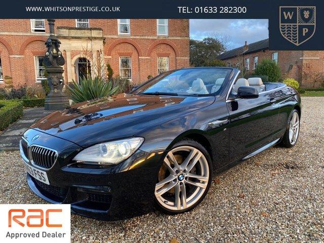 2013 63 BMW 6 SERIES 3.0 640D M SPORT 2d 309 BHP
