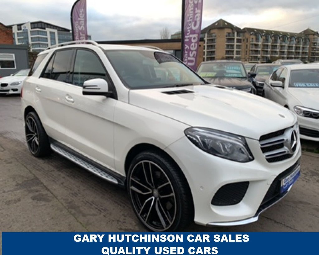 USED 2018 18 MERCEDES-BENZ GLE-CLASS 250 D 4MATIC AMG LINE 5d 201 BHP