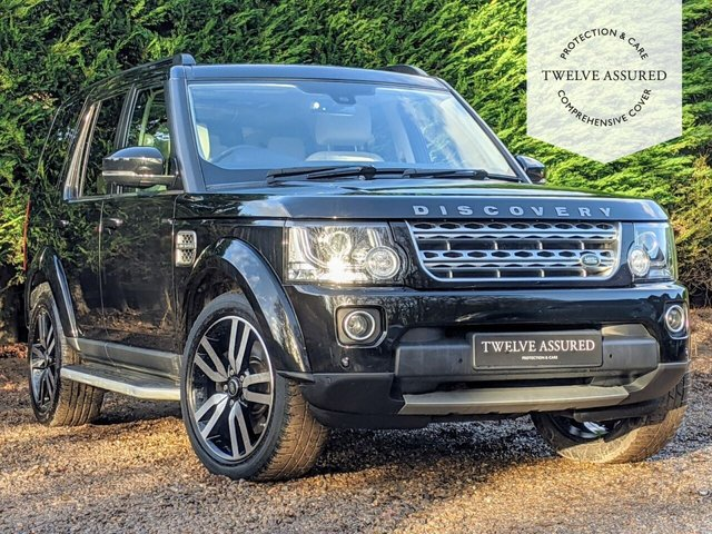 USED 2014 64 LAND ROVER DISCOVERY 3.0 SDV6 HSE LUXURY 5d AUTO 255 BHP