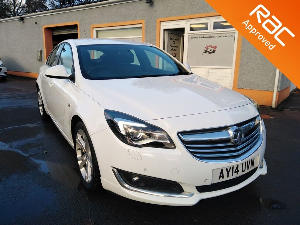 "USED 2014 14 VAUXHALL INSIGNIA 2.0 LIMITED EDITION CDTI ECOFLEX S/S 5d 160 BHP Parking Sensors, Heated Seats, Heated Steering Wheel, Bluetooth, 18"" Alloys, 3 Service Stamps in the history!"