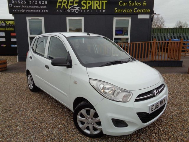 USED 2011 61 HYUNDAI I10 1.2 Classic 5dr Low Mileage, 2 Owners