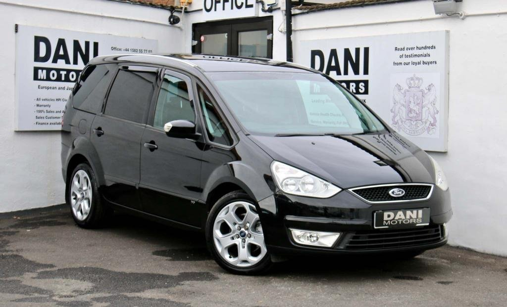 USED 2007 07 FORD GALAXY 2.2 TDCi Ghia 5dr 1 F OWNER*TIMING BELT DONE*
