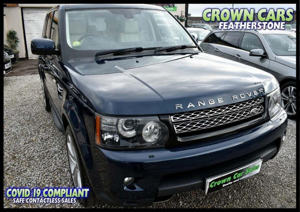 USED 2012 62 LAND ROVER RANGE ROVER SPORT 3.0 SD V6 HSE (Luxury Pack) 4X4 5dr FREE FINANCE ELIGIBILITY CHECK