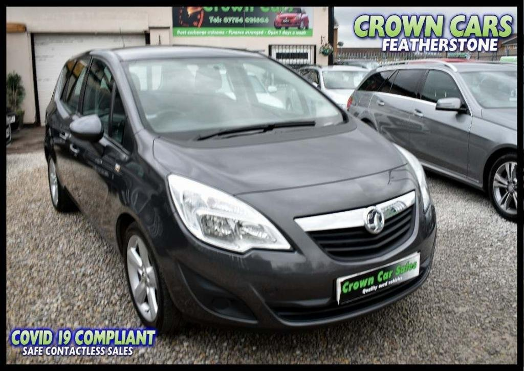 USED 2011 61 VAUXHALL MERIVA 1.4 i 16v Exclusiv 5dr (a/c) FREE FINANCE ELIGIBILITY CHECK