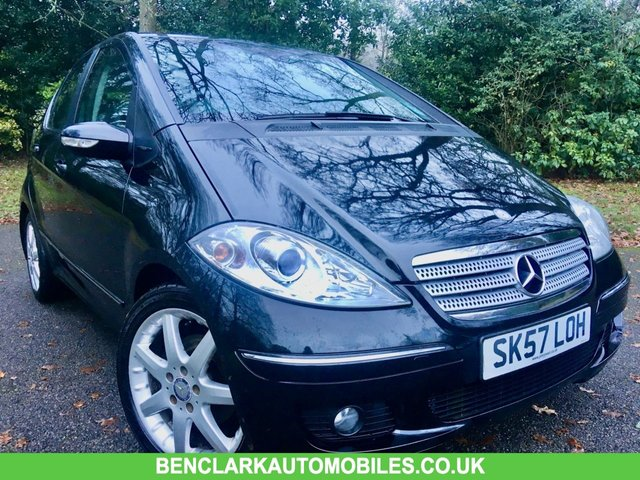 2007 57 MERCEDES-BENZ A-CLASS 1.5 A150 AVANTGARDE SE 5d 94 BHP STUNNING LOW MILES -ONLY 25,800 MILES