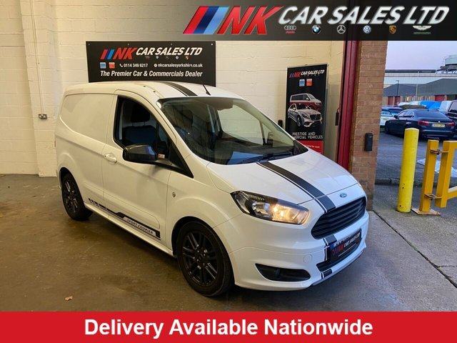 2017 17 FORD TRANSIT COURIER 1.5 SPORT TDCI 94 BHP LOW MILES PRICE IS PLUS VAT SOLD TO LEWIS  FROM SCUNTHORPE