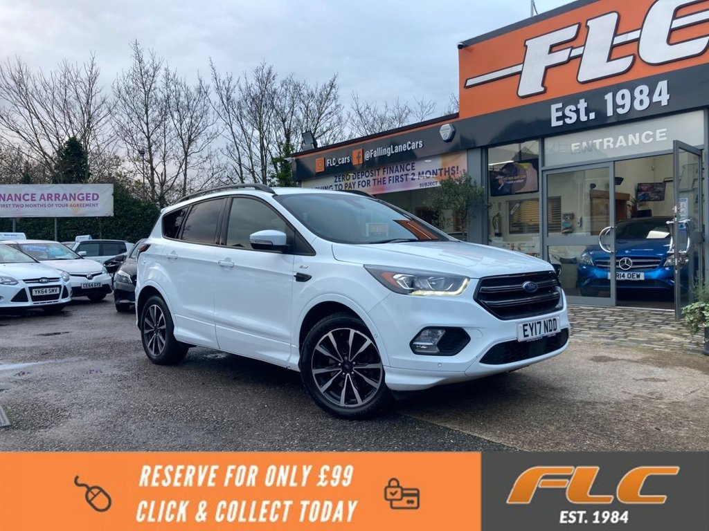USED 2017 17 FORD KUGA 2.0 ST-LINE TDCI 5d 148 BHP
